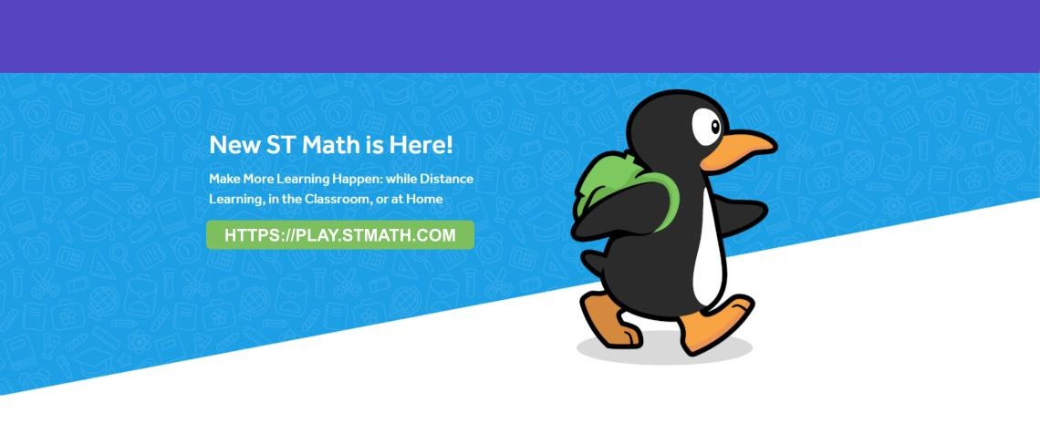 New ST Math is Here! Make More Learning Happen: while Distance Learning in the Classroom, or at Home. | https://play.stmath.com