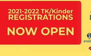2021-2022 TK/Kinder Registrations -NOW OPEN- - article thumnail image