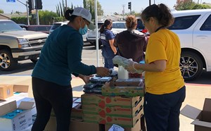 Successful food distribution at Bryant Arts Academy! - article thumnail image